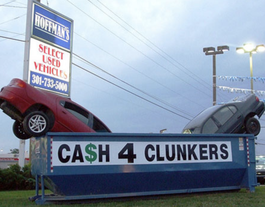 Cash For Clunkers >> Honk If You Thought Cash For Clunkers Was A Mistake Wise Patriot